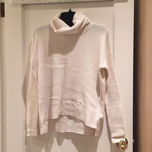 Madewell turtleneck sweater with removable neck